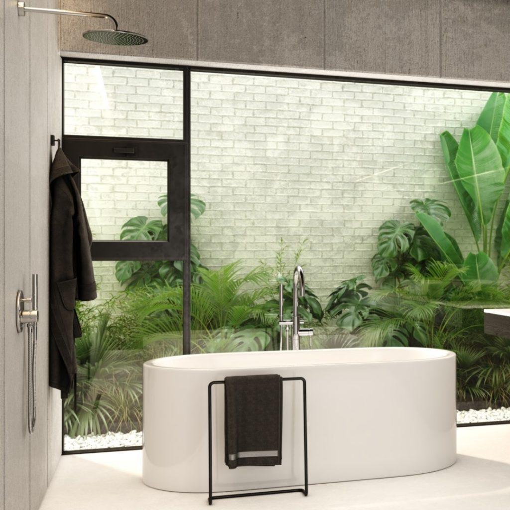 Łazienka z wanną i prysznicem – znowu zyskuje na popularności